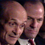 Michael Chertoff and Gov. Eliot Spitzer