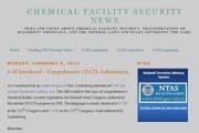 Chemical Facility Security News