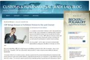 Customs and International Trade Law Blog