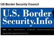 US Border Security Council